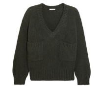 Knitted Sweater Dark Green