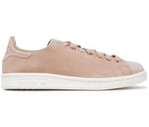Stan Smith two-tone suede sneakers