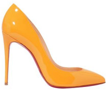 Pigalle Follies 100 Patent-leather Pumps Marigold