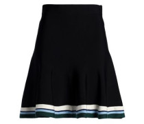 Stretch-ponte mini skirt