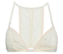 Lace Underwired Soft-cup Bra Ivory