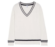 Jules ribbed cotton-blend sweater