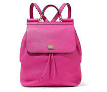 Sicily pebbled-leather backpack