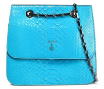 Python Shoulder Bag Turquoise Size --