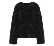 Tinsel And Knitted Sweater Black