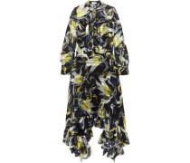 Niamh ruffled floral-print silk-chiffon maxi dress