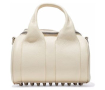 Rockie textured-leather tote
