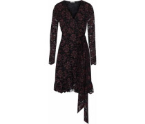 Flynn lace wrap dress