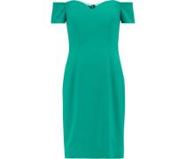 Off-the-shoulder cady dress