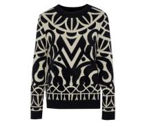 Jani jacquard-knit sweater