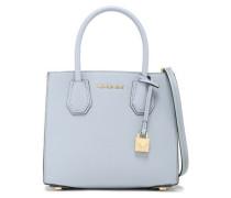 Textured-leather Shoulder Bag Sky Blue Size --