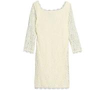 Corded lace mini dress