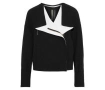 Bryce Wool-crepe Jacket Black Size 12