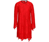 Lace Mini Dress Red
