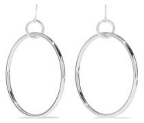 Silver-tone earrings