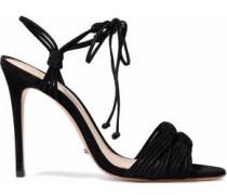 Tammi knotted nubuck sandals