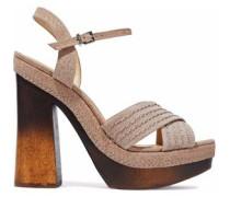 Alice suede platform sandals