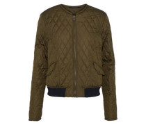 Cassell Quilted Shell Jacket Army Green