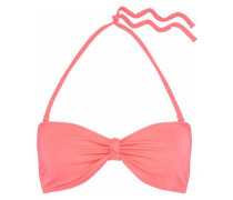The Whitney Knotted Bikini Top Baby Pink