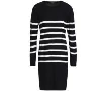 Serberg striped silk mini dress