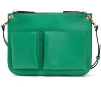 Woman Leather Shoulder Bag Green