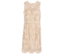 Cotton guipure lace dress