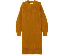 Woman Wool Tunic Camel