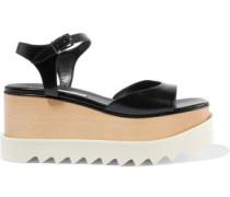 Elyse faux leather platform sandals