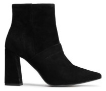 Suede Ankle Boots Black