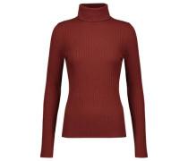Emma ribbed merino wool-blend turtleneck sweater