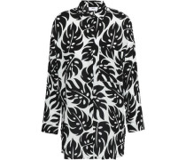 Printed Voile Shirt Black Size 1