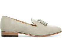 Gaston patent-leather loafers