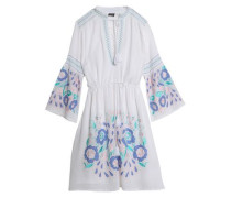Rubi embroidered cotton-voile dress
