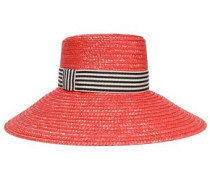 Straw Sunhat Red Size ONESIZE
