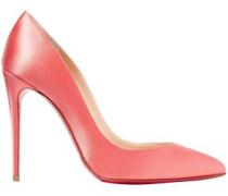 Pigalle Follies 100 Satin Pumps Pink