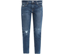 Dre distressed boyfriend jeans