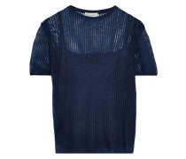 Open-knit Top Navy
