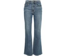 High-rise Flared Jeans Mid Denim  7