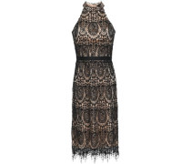 Katan Lace Dress Black Size 12
