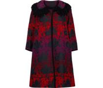 Floral-jacquard Jacket Multicolor Size 0