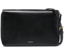 Leather Clutch Black Size --
