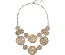 Gold-plated Necklace Gold Size --