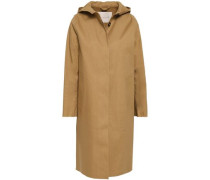 Cotton Hooded Raincoat Sand