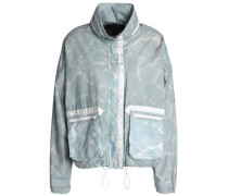Tie-dye cotton jacket