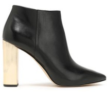 Woman Paloma Leather Ankle Boots Black