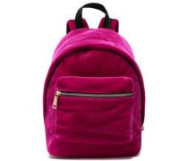 Velvet Backpack Fuchsia Size --