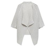 Skylight Open-knit Virgin Wool-blend Cardigan Stone