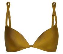 Metallic Triangle Bikini Top Army Green Size 0 A