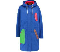 Cotton hooded coat