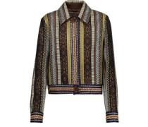 Embellished Bouclé Wool-blend Sweater Multicolor